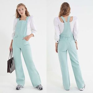 NEW L.F. markey mint fitted flare overalls